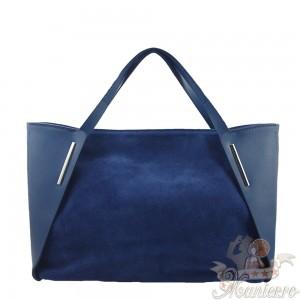 geanta-piele-naturala-albastra